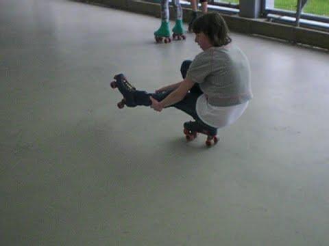 Roller Skating Shoot the Duck