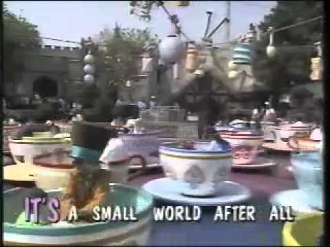 Disney Sing Along Songs - 1990 Disneyland Fun - It's A Small World
