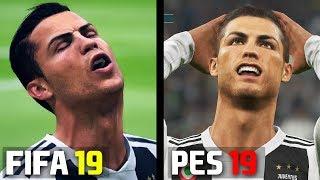 FIFA 19 vs PES 2019: Graphics & Player Animation