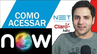 "USAR O NOW | ""NETFLIX"" DA NET E CLARO TV"