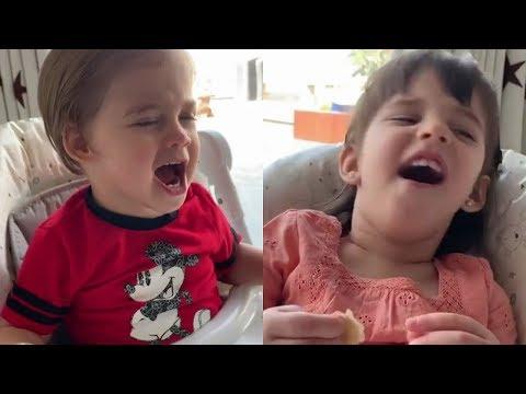 Karan Johar Kids Yash Johar And Roohi Johar Mimic Each Other Mp3