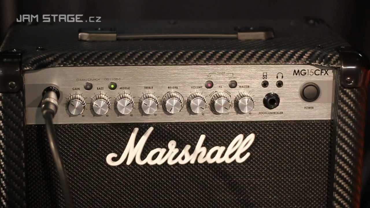 Marshall mg30cfx settings