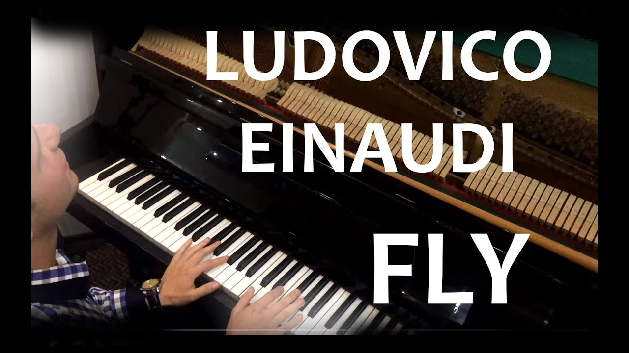 Как играть на пианино (How to play) Ludovico Einaudi - Fly ...