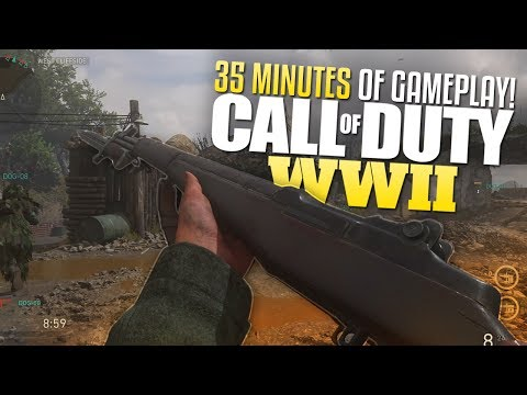 Call of Duty: WW2 35 MINUTES OF MULTIPLAYER GAMEPLAY (CoD WW