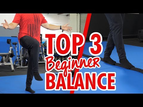 TOP 3 Balance Exercises For Beginners (How To Get Started!)