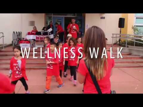 Argonne Elementary School Wellness Walk 2017