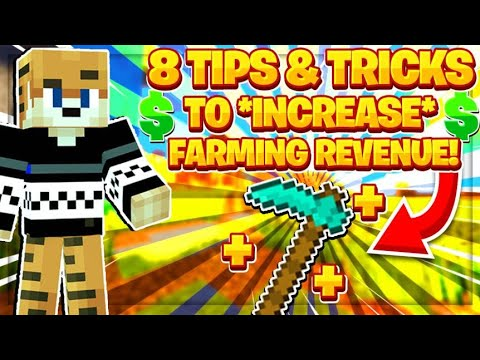 8 Tips and Tricks to INCREASE FARMING business MONEY!!