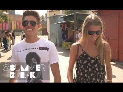 Kostas and Raina Go On a Date | Season 1 Episode 30 @SummerBreak
