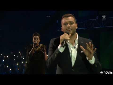 "Arnar Jónsson & Rakel Pálsdóttir - ""Again"" [Live] | Söngvakeppnin 2017 - Final"