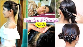 6 HAIR CARE & HAIRSTYLE Hacks You Must Know .. | #Beauty #Winters #Fun #Anaysa