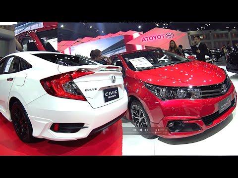 Corolla Vs Civic 2017 >> All New 2016 2017 Honda Civic Vs 2016 2017 Toyota Corolla Altis Facelift