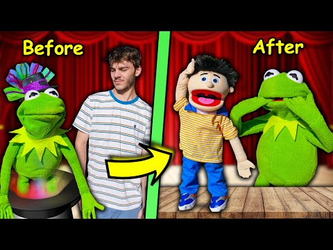 Kermit the Frog's Brother turned my Friend into a Puppet! (MAGIC TRICK)