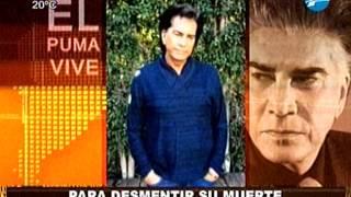 """""""El Puma"""" Rodríguez desmiente su muerte en un video 04/11/2014"""