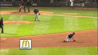 2011/05/19 Cabrera's behind-the-back flip