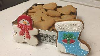 Имбирное печенье на Новый год! Вкусный рецепт имбирного пряника
