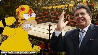 Alan García VS Homero Simpson