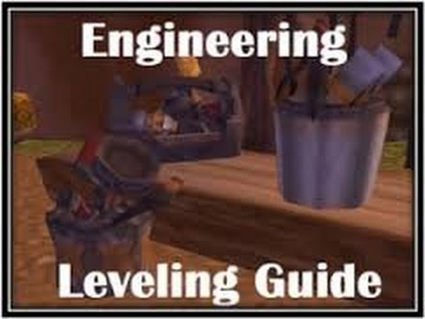 World of Warcraft - How to Level Engineering Fast for Twinks (1-100)