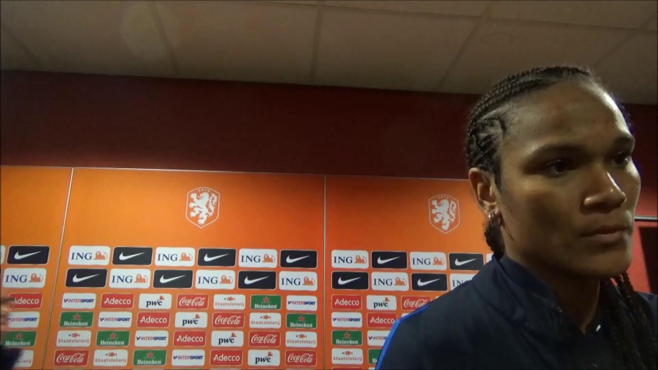 Wendy renard interview - 20170407 Interview Avec Wendie Renard Apres La Match Avec La France Utrecht Contre Holland 1 2