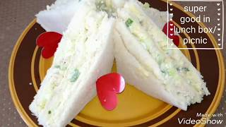 Creamy club sandwich recipe  - chicken and egg club sandwich recipe @samee cooking recipes