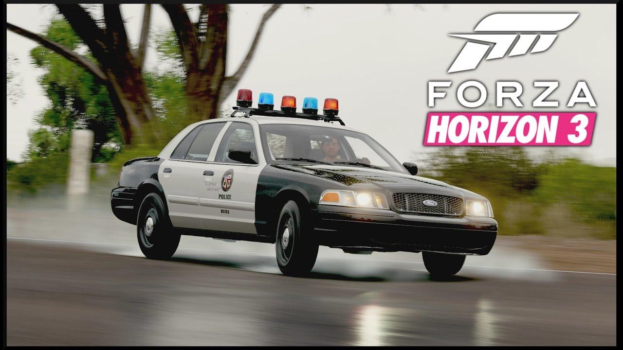 Forza horizon 3 quick drive 1 ford crown victoria police interceptor