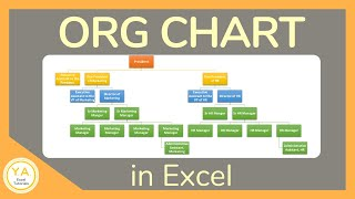 How to Make an Organizational Chart in Excel - Tutorial