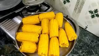 Boil Corn in Pressure Cooker | Easy Method Cooking Corn | Healthy Food