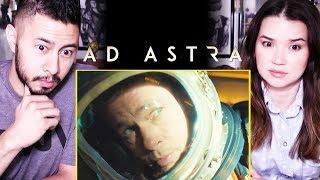 AD ASTRA | Brad Pitt | IMAX Trailer Reaction by Jaby Koay & Achara | Tommy Lee Jones | James Gray