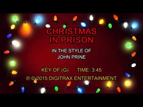 John Prine - Christmas In Prison (Backing...