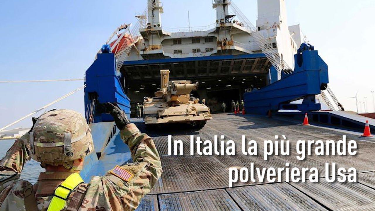 L'Arte della Guerra - In Italia la più grande polveriera Usa (PT/EN/FR/DE/SP)