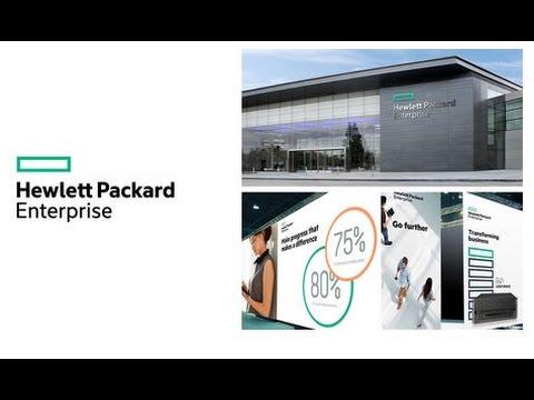 Hewlett Packard Enterprise LOGO - HP New Logo - YouTube