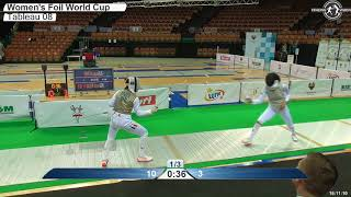 2018 127 F F Individual Katowice POL WC T08 04 GREEN PIRIEVA RUS vs SAUER GER
