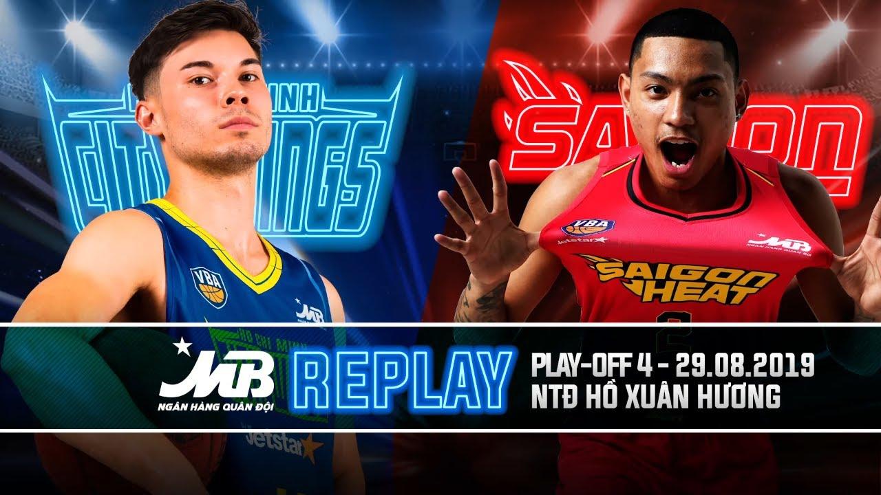 Replay VBA 2019 || Playoffs 2 – Game 2: Wings by Jetstar vs Saigon Heat | 29.08