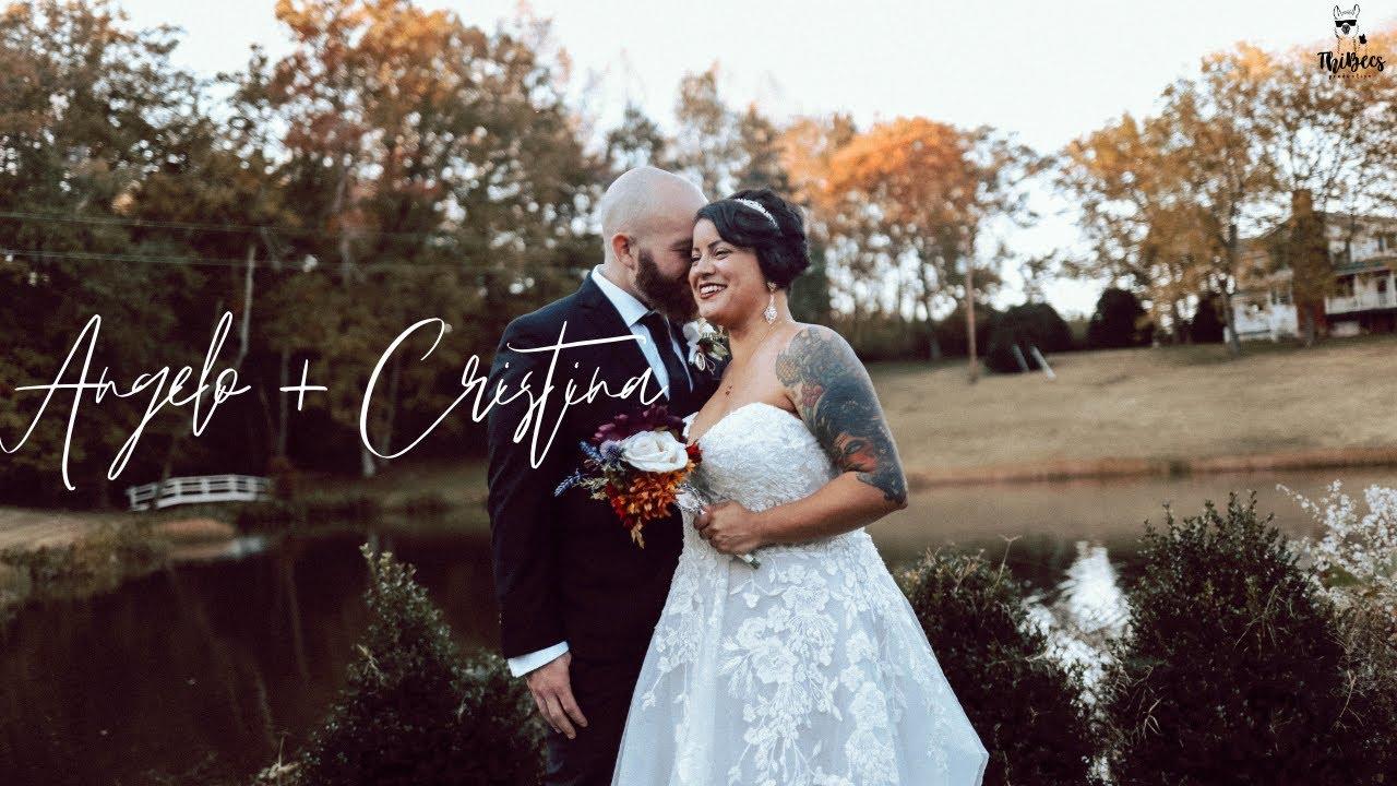 Not a dry eye at wedding, hilarious best man & maid of honor speech | Cristina & Angelo | Louisa, VA