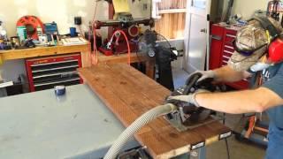 Ed's Wheelchair Ramp build part 1
