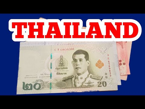 Thailand's New Banknotes With Values