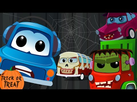 Zeek and Friends | ghost they love to walk tonight | halloween song | kids rhymes | childrens song