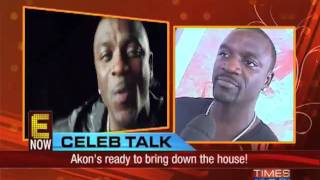 Put your hands up, Akon