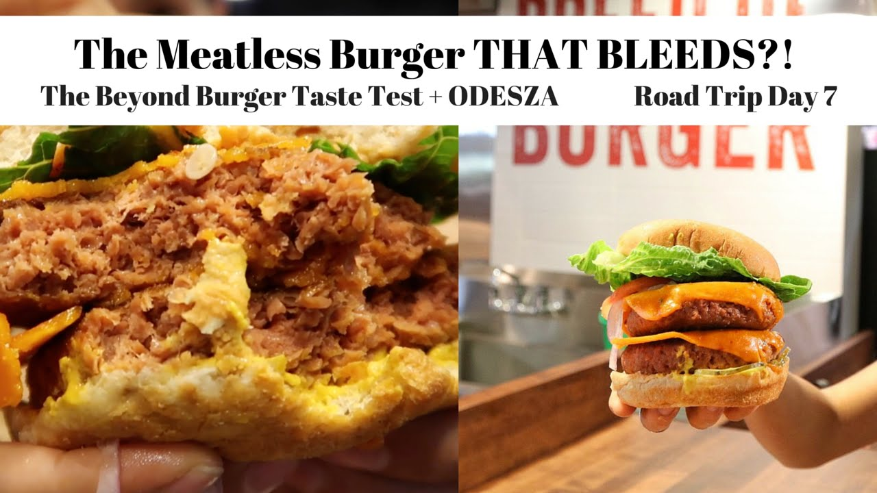 The Meatless Burger That Bleeds?! Beyond Burger Taste Test & Odesza | Road Trip Day 7