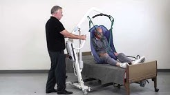 Patient Lift Transfer from Bed to Chair