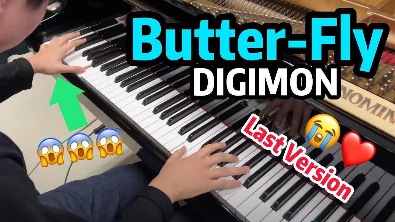 Digimon Adventure: LAST EVOLUTION KIZUNA Main Theme -『Butter-Fly Last Ver』(Piano Cover)