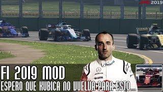 Espero que Kubica no vuelva para hacer esto... ¡F1 2019 mod, comienza el Mundial!