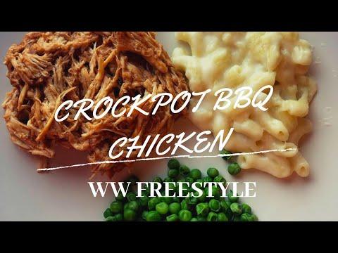 Crockpot BBQ Chicken! WW Freestyle