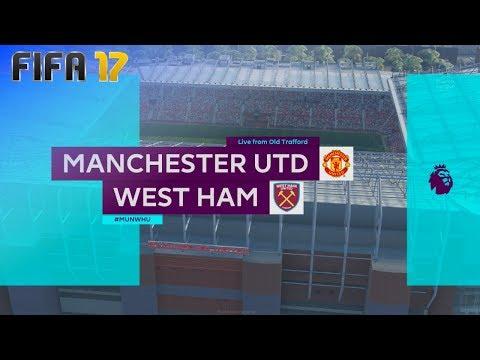FIFA 17 - Manchester United vs. West Ham United @ Old Trafford ('17/'18)