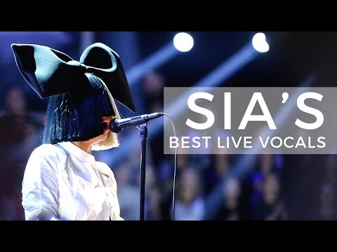 Sia's Best Live Vocals