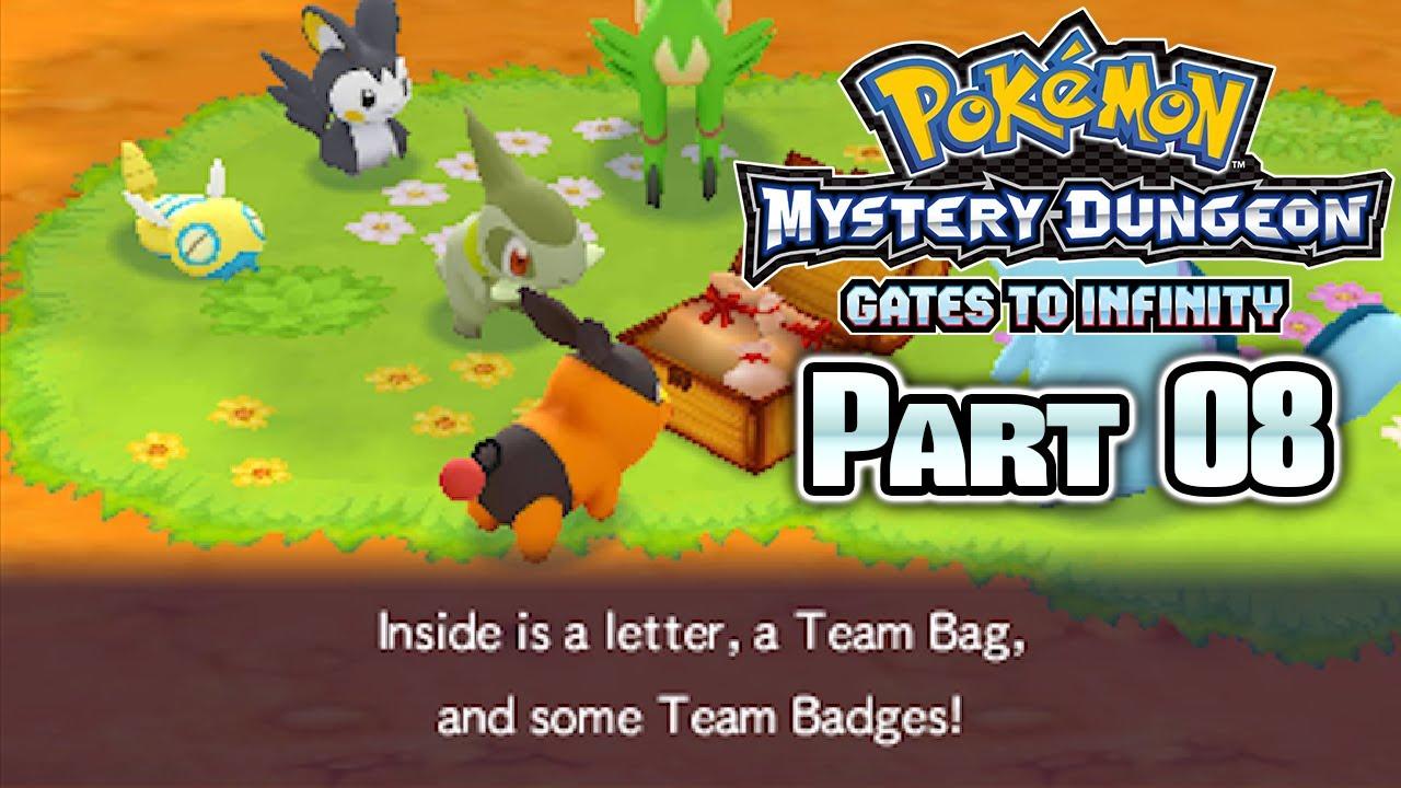 Pokemon mystery dungeon gates to infinity pokemon list