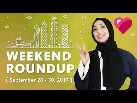 Top events in Qatar this weekend (September 28 - 30, 2017)