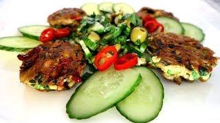 Снэк из тунца + освежающий салат. Как всегда просто и очень вкусно