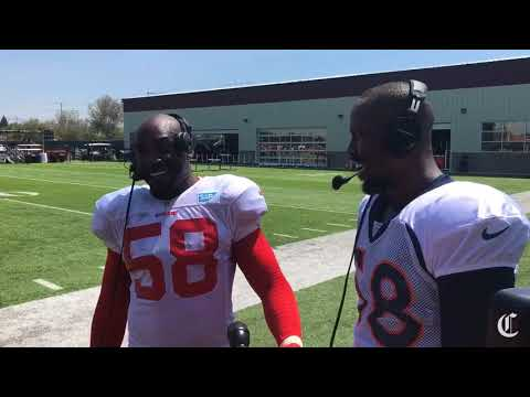 Ex-teammates Elvis Dumervil and Von Miller discuss their relationship