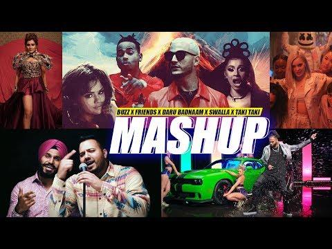 Buzz  Friends  Daru Badnaam  Swalla  Taki Taki  DJ Harshal Mashup  Sunix Thakor