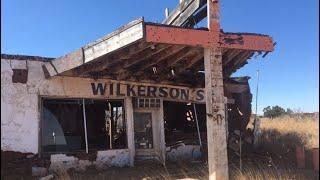 Abandoned Service Station & Living Quaters URBEX
